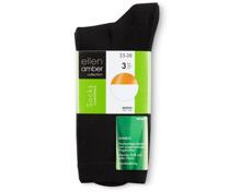 Ellen Amber Damen-Socken im 3er-Pack
