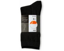 Ellen Amber Damen-Socken im 5er-Pack, 5er-Pack