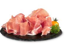 Emilia Romagna Prosciutto crudo und Salame Felino geschnitten