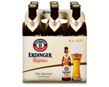 Erdinger Weissbier, 6 x 50 cl