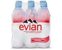 Evian, 6 x 50 cl