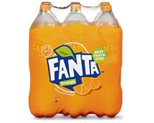 Fanta Orange, 6 x 1,5 Liter