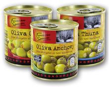 FEINES AUS SPANIEN Gefüllte spanische Oliven