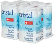 Feinkristallzucker Cristal, 4er-Pack