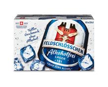 Feldschlösschen Bier alkoholfrei, 10 x 33 cl
