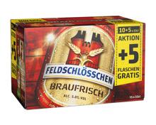 Feldschlösschen Bier Braufrisch