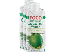 Foco 100% reines Kokosnusswasser