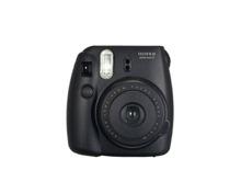 Fuji Instax Mini Sofortbildkamera schwarz