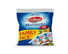 Galbani Mozzarella, 3 x 150 g, Trio