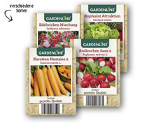 GARDENLINE® Gemüse-/Blumensamen