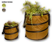 GARDENLINE® Pop-Up Gartenabfallsack-Set, 2-teilig