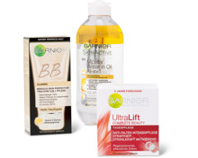 Garnier-Gesichts- und -Körperpflege-Produkte