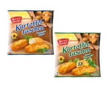 Gefüllte Kartoffeltaschen