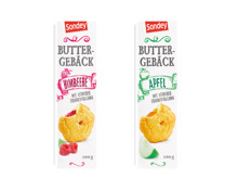 Gefülltes Buttergebäck