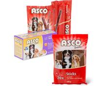 Gesamtes Asco Hundefutter-Sortiment