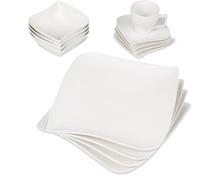 Gesamtes Cucina & Tavola Geschirr-Sortiment aus Porzellan und Glas