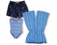 Gesamtes Damen- und Herren-Badebekleidungs-Sortiment