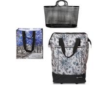 Gesamtes Einkaufstaschen- und -trolley-Sortiment