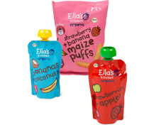 Gesamtes Ella's Kitchen Babynahrungs-Sortiment