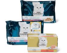 Gesamtes Gourmet Katzenfutter-Sortiment