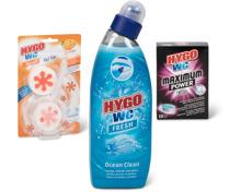 Gesamtes Hygo WC-Sortiment
