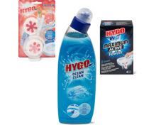 Gesamtes Hygo WC Sortiment