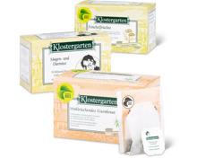 Gesamtes Klostergarten Tee-Sortiment