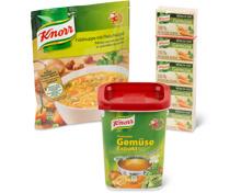 Gesamtes Knorr Sortiment