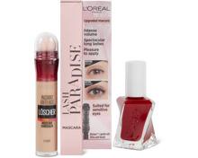 Gesamtes L'Oréal Paris Dekorativkosmetik-, Maybelline- und Essie-Sortiment