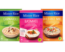 Gesamtes Mister Rice Sortiment