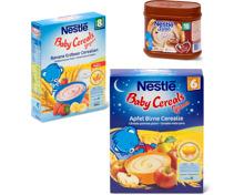 Gesamtes Nestlé Babynahrungs-Sortiment
