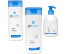 Gesamtes pH Balance Sortiment