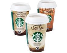 Gesamtes Starbucks Sortiment