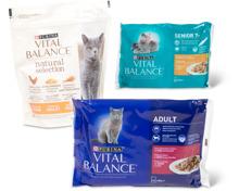 Gesamtes Vital Balance Katzenfuttter-Sortiment