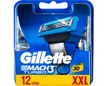 Gillette Rasierklingen Mach3 Turbo