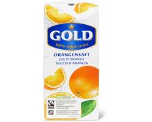 Gold-Apfelsäfte, TerraSuisse, 1 Liter und 33 cl, sowie -Orangensaft, Fairtrade, 33 cl