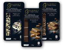 GOURMET Gefüllte Schokoladentäfelchen