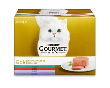 Gourmet Gold Feine Pastete, 24 x 85 g
