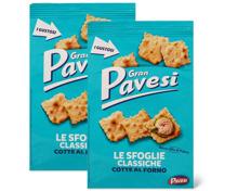 Gran Pavesi- und Roberto-Gebäcke im Duo-Pack