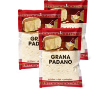 Grana Padano gerieben im 3er-Pack