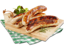 Grill mi Grill-Bratwurst in Sonderpackung