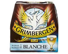 Grimbergen Blanche Bier, 6 x 25 cl