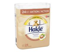 Hakle Toilettenpapier 4-lagig Shea Butter 24 Rollen