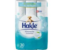Hakle Toilettenpapier Klassische Sauberkeit Blau