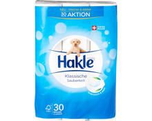 Hakle Toilettenpapier Klassische Sauberkeit Weiss
