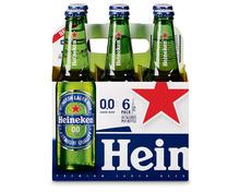 Heineken Bier 0.0, alkoholfrei, 6 x 33 cl