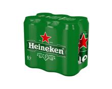 Heineken Bier 6 x 50 cl