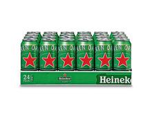 Heineken Bier, Dosen, 24 x 50 cl
