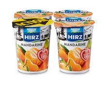Hirz Jogurt Mandarine, Limited Edition, 4 x 180 g