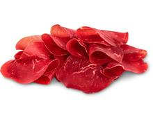 Hobelfleisch geschnitten